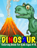 Dinosaur Coloring Book for Kids Ages 4 8 PDF