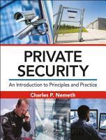 Private Security PDF