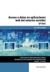 UF1845 - Acceso a datos en aplicaciones web del entorno servidor