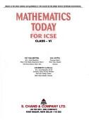 Mathematics Today 6 Icse
