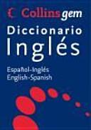 Diccionario Espa  ol Ingl  s   English Spanish PDF
