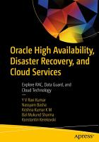Oracle High Availability  Disaster Recovery  and Cloud Services PDF
