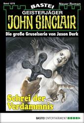 John Sinclair - Folge 1978: Schrei der Verdammnis