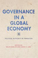Governance in a Global Economy PDF