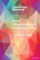 Rural Development in Southeast Asia PDF