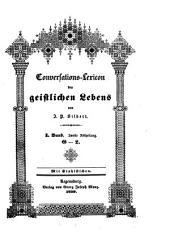 Conversations-Lexicon des geistlichen Lebens: G - L. 1,2
