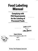 Food Labeling Manual PDF