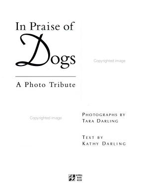 In Praise of Dogs PDF