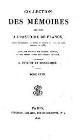 Collection des mémoires relatifs à l'histoire de France: Mémoires du marquis de Torcy ; t. I, Volume67