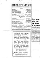 Metropolitan PDF