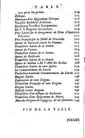 Poesies de M. de La Monnoye: ... avec son eloge