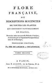 Flore française: Volume2