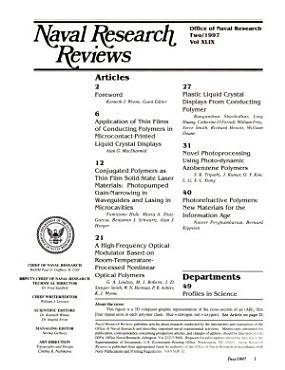 Naval Research Reviews PDF