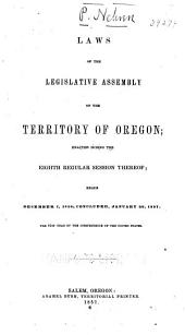 Laws of the Territory of Oregon