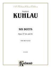 Six Duets, Op. 57bis and 81: For Two Flutes