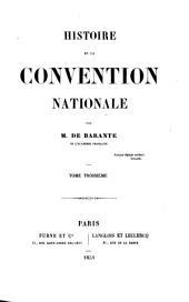 Histoire de la Convention nationale: Volume3