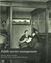 Public Service Management: Volumes 14-15