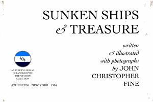 Sunken Ships & Treasure