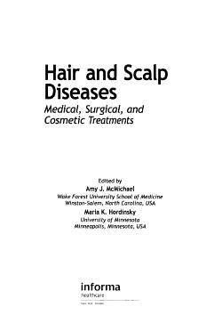 Hair and Scalp Diseases PDF