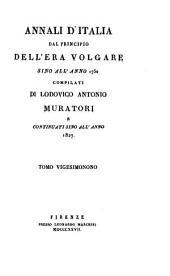 Annali d'Italia dal principio dell'era volgare sino all'anno 1750: Volumi 29-30