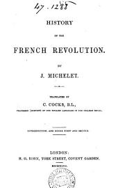 History of the French revolution, tr. by C. Cocks