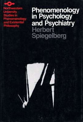 Phenomenology in Psychology and Psychiatry PDF