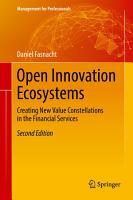 Open Innovation Ecosystems PDF