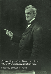 Proceedings of the Trustees ... from Their Original Organization on the 8th February, 1867: Volume 5
