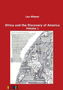 Africa and the Discovery of America Book