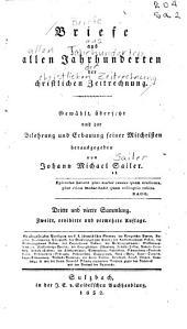 Briefe aus allen Jahrhunderten der christlichen Zeitrechnung: Bände 3-6