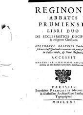 De ecclesiasticis disciplinis et religione christiana