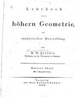 Lehrbuch der höhern Geometrie, in analytischer Darstellung
