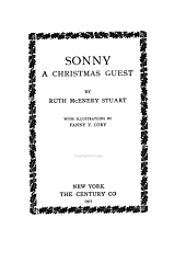 Sonny, a Christmas Guest