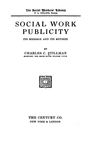 Social Work Publicity