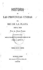 Historia de las provincias unidas del Río de la Plata: 1816 á 1818