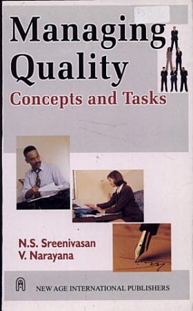 Managing Quality   Concepts And Tasks PDF