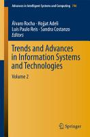 Trends and Advances in Information Systems and Technologies PDF