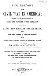 The History of the Civil War in America PDF