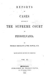 Reports of Cases Adjudged in the Supreme Court of Pennsylvania: 1824