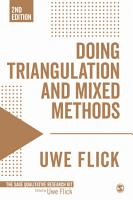 Doing Triangulation and Mixed Methods PDF
