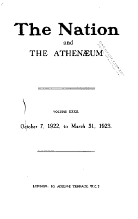 The Nation and the Athenaeum PDF