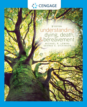 Understanding Dying  Death  and Bereavement PDF