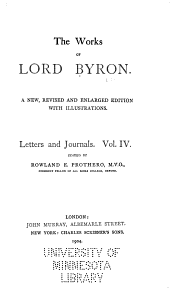 The works of Lord Byron: Volume 11