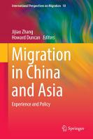Migration in China and Asia PDF
