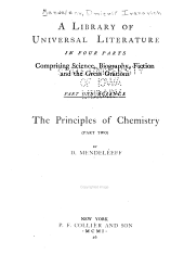 The Principles of Chemistry: Volume 1, Part 2