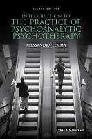 Introduction to the Practice of Psychoanalytic Psychotherapy PDF