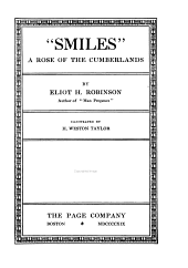 """Smiles,"" a Rose of the Cumberlands"