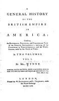 A General History of the British Empire in America PDF