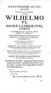 Historia naturalis. (Animalium.)