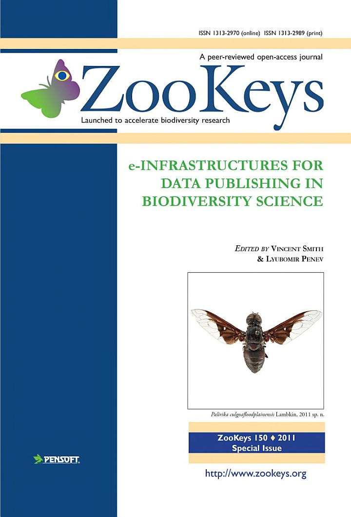 E-Infrastructures for Data Publishing in Biodiversity Science